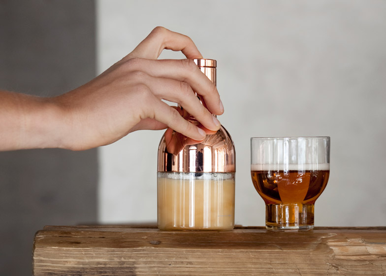 Beer foamer by Norm Architects for Menu
