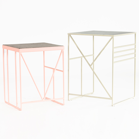 Berg tables by Thorunn Hannesdottir for Faerid