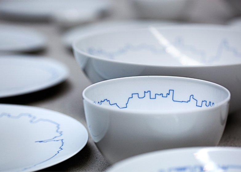 Big Cities tableware set for Rosenthal by BIG and Kilo Design