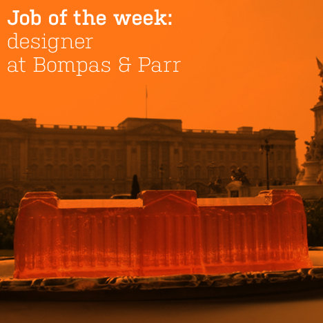 Job of the week: designer at Bompas & Parr