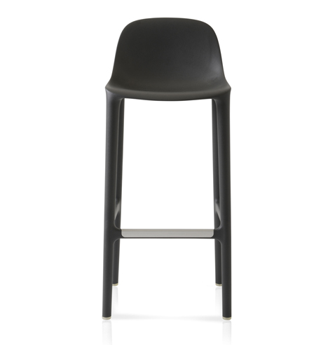 philippe starck creates stools made from recycled materials for emeco