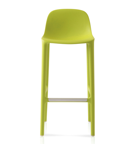 Broom barstool and counter stool by Philippe Starck for Emeco