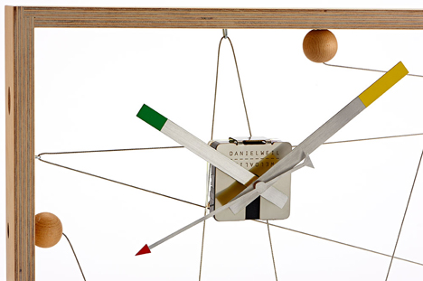 Deconstructed clocks by Daniel Weil