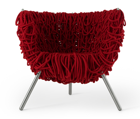 Campana brothers Vermelha chair