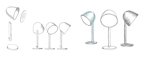 Campanule lamp by Something for Ligne Roset