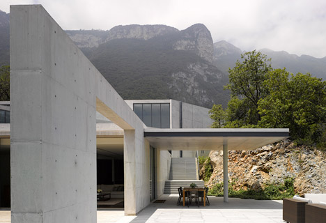 Casa Monterrey house in Mexico by Tadao Ando