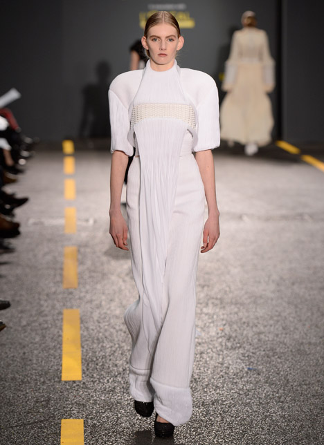 Sang Yoon Central Saint Martins collection