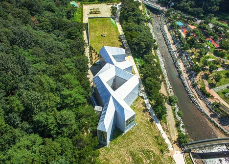 Chang Ucchin Museum by Chae Pereira Architects