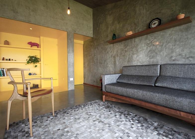 monterrey apartment renovation. Black Bedroom Furniture Sets. Home Design Ideas