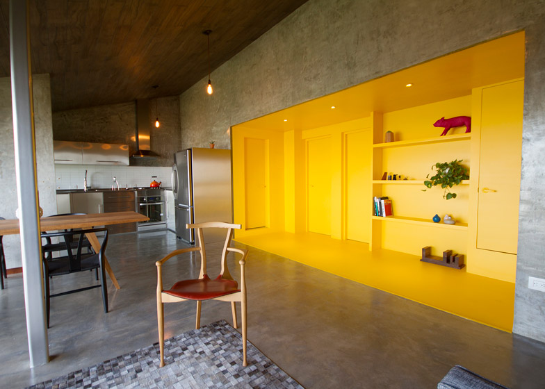Chipinque apartment renovation by Jakob Gomez studio