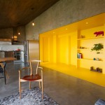 Jakob Gomez renovates Monterrey apartment with yellow circulation space
