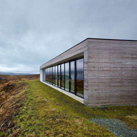 Cliff House by Dualchas in Scotland