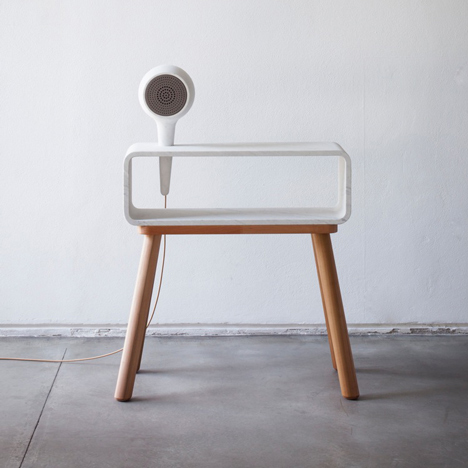 Debut collection from Clique combines electronics with handcrafted marble and wood