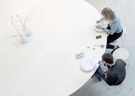 Cloud Table by Studio Maks