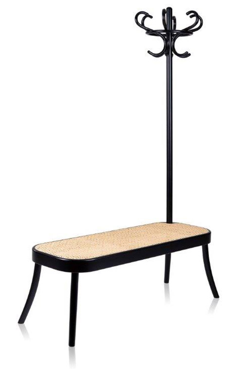 Coat Rack Bench and Arch Tables for Gebrüder Thonet Vienna