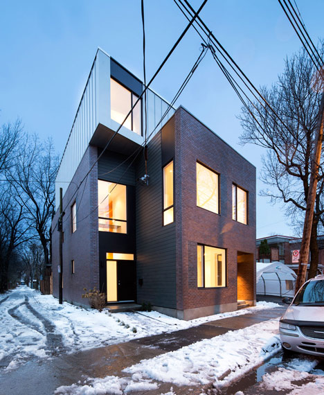 Coleraine houses in Canada by naturehumaine
