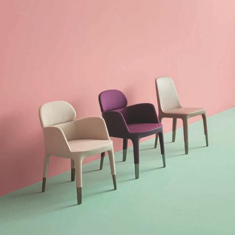 Ester armchairs