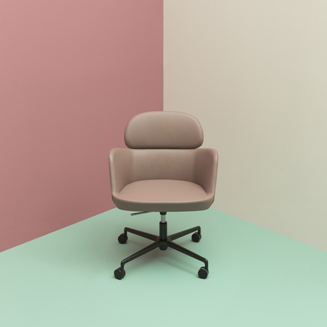 Pedrali adds office chairs to Ester seating range