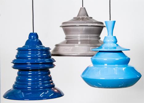 Johanna Tammsalu Solid Spin Lamps