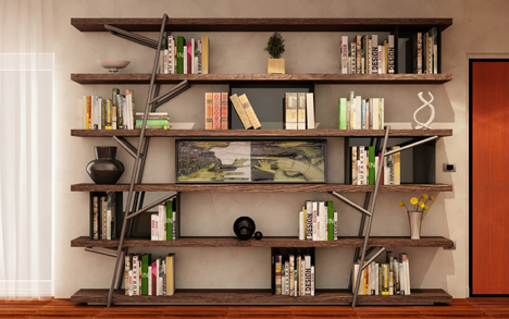 Logshelf  by LI-VING design studio