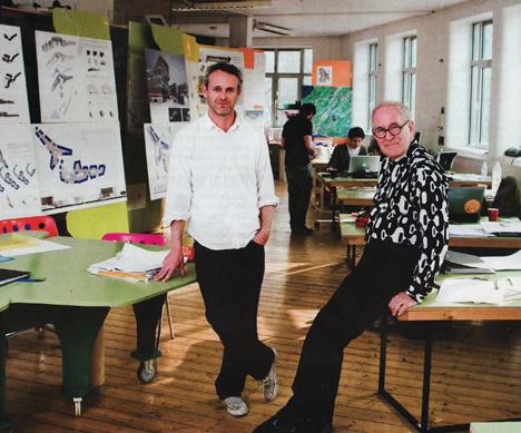 Sir Peter Cook and Gavin Robotham