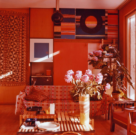Ettore Sottsass' apartment in Milan