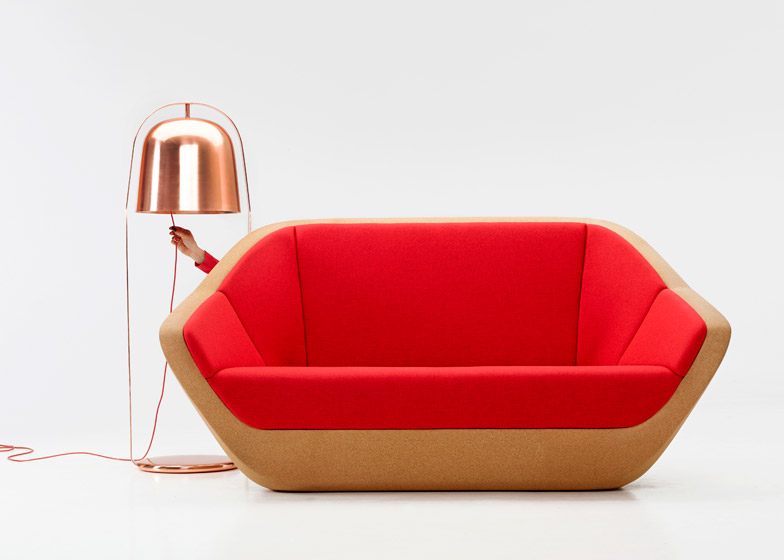 Corques sofa by Lucie Koldova