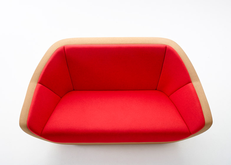 Corques sofa by Lucie Koldova