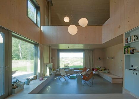 Country house Goedereede by Korteknie Stuhlmacher Architecten