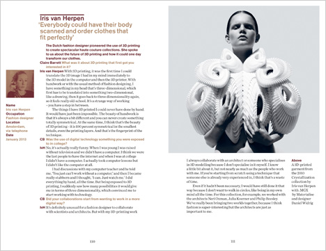 Dezeen Book of Interviews: Iris van Herpen