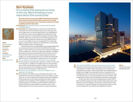Dezeen Book of Interviews: Rem Koolhaas