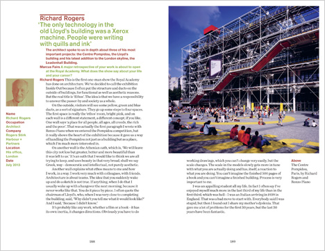 Dezeen Book of Interviews: Richard Rogers