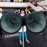 "Binaudios by Dominic Wilcox encourage users to ""listen to the city"""