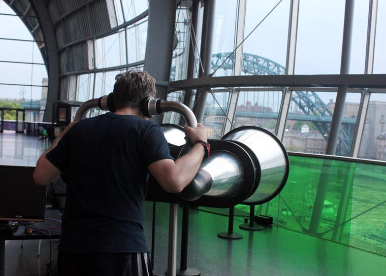 Dominic Wilcox Binaudios binoculars