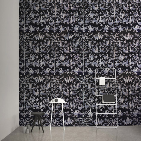 Custhom launches digitally<br /> embroidered wallpaper