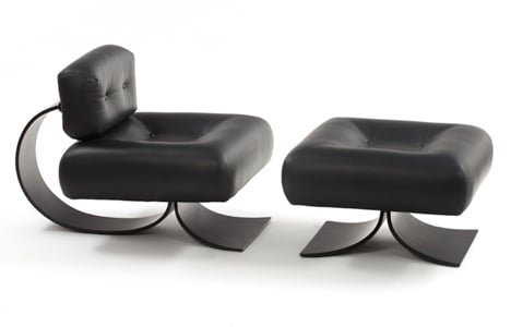 Espasso collection Alta armchair by Oscar Niemeyer