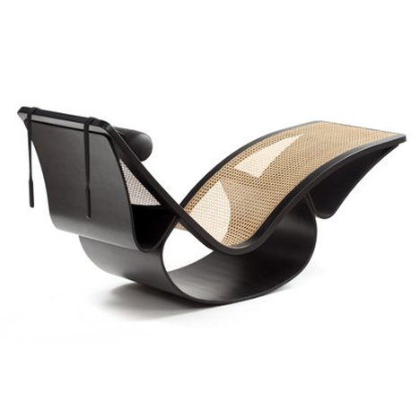 Espasso collection Rio rocking chaise by Oscar Niemeyer