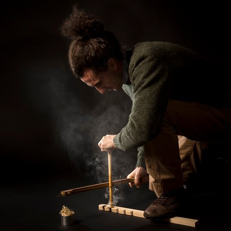 Re-Fire kit by Francesco Faccin creates fire without matches or a