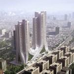 3XN breaks ground on Mumbai skyscrapers modelled on Indian plantlife