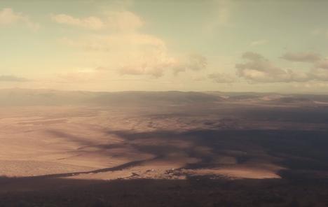 New Zealand desert Flying Lotus