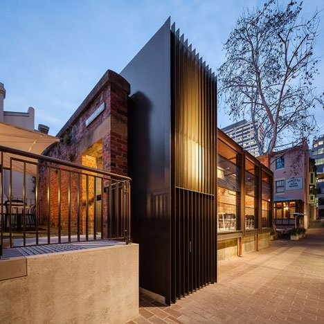 Welsh + Major transforms an old Sydney police station into a restaurant