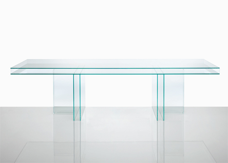 Glas Italia Verglas by Piero Lissoni