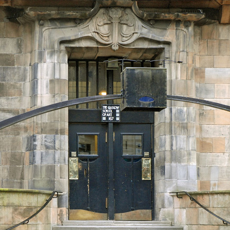 Students return to Glasgow School of Art as conservation effort begins
