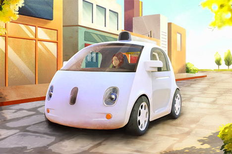 Google self-driving car_dezeen_2