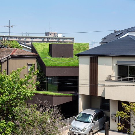 Grass Cave House by Makiko Tsukada Architects