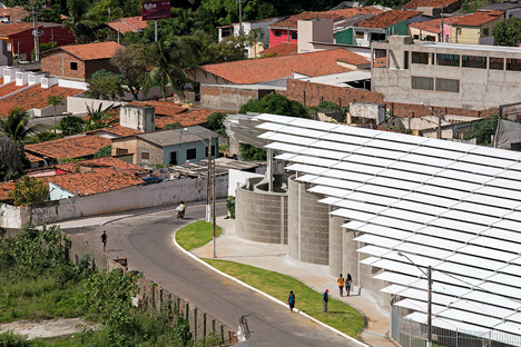 Arena do Morro by Herzog & de Meuron in Brazil