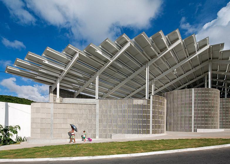 Arena do Morro by Herzog & de Meuron in Brazil