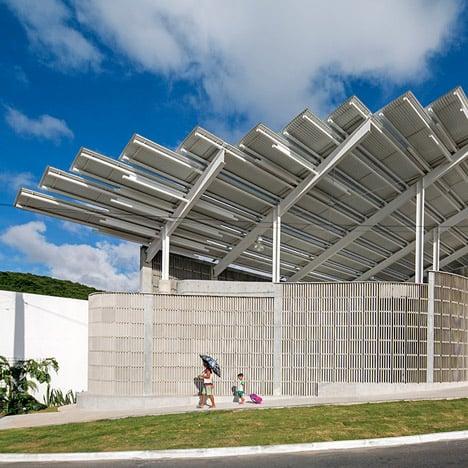 Herzog & de Meuron completes Arena do Morro gymnasium in Brazil