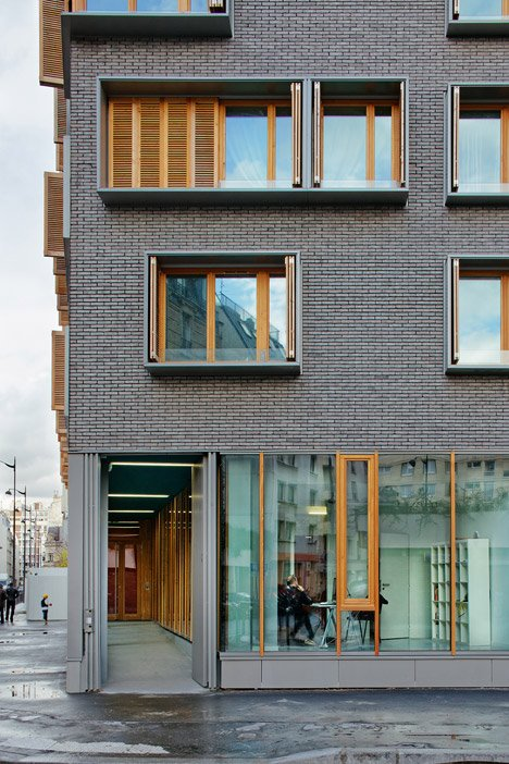 Housing at Boucicaut Paris by Michel Guthmann