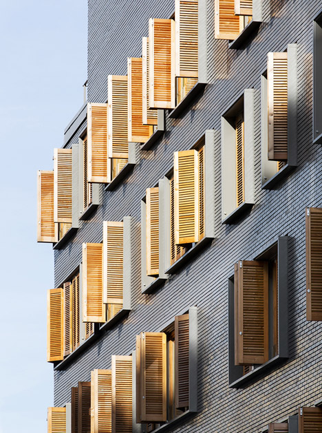 Housing at Boucicaut Paris by Michel Guthmann